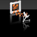 Roll Up banner-Graphics and 3D. Un proyecto de 3D, Br e ing e Identidad de Xoan Baltar - 03.11.2014