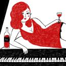 Sexy girl. Un proyecto de Ilustración y Diseño de personajes de Marta Ángel Ruiz - 10.11.2014