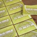 Tarjeta de visita — Entrenador de tenis. Un proyecto de Br, ing e Identidad, Diseño gráfico y Marketing de Miguel Ángel Reino - 14.11.2012