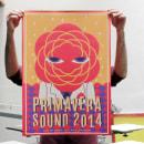 Primavera Sound 2014. Um projeto de Ilustração e Serigrafia de Barba - 21.05.2014