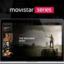 Movistar Series . Un proyecto de UI / UX, Dirección de arte y Diseño Web de Owi Sixseven - 02.12.2014