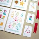 Colección - Tarjetas Navideñas. Un proyecto de Diseño de producto e Ilustración de Alejandra Morenilla - 08.12.2014