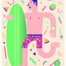 Sunny days are coming. Un proyecto de Ilustración, Diseño de personajes y Diseño gráfico de dani aristizábal - 09.05.2014