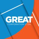 Great Corporation Ltda.. Um projeto de Design gráfico de Flavia Solar Desiderio - 22.12.2014