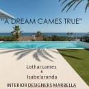 Proyecto de Interiorismo para Villa en Marbella. Um projeto de Design de móveis, Arquitetura de interiores e Design de interiores de Isabel Aranda - 28.02.2013