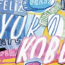 Portada de la revista Yorokobu. Um projeto de Ilustração, Design gráfico, Tipografia e Colagem de Sergio Jiménez - 30.11.2014