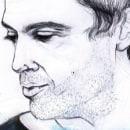 Retratos: Luis. Um projeto de Ilustração de Laura Bustos - 28.01.2015