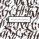 Parallel Pen Alphabet. A Calligraph project by Guillermo Sacristán - 02.02.2015
