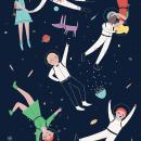 Cosmic Party. Un proyecto de Ilustración de Marta Ángel Ruiz - 09.02.2015