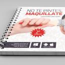 """""""No te pintes, maquíllate"""". . Un proyecto de Diseño, Diseño editorial y Diseño gráfico de Carlos Garrigues Pinazo - 30.09.2013"""
