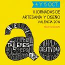 II Jornadas de artesanía y diseño Valencia. Un proyecto de Diseño gráfico y Eventos de Beatriz Sena Peris - 25.02.2015