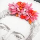 Frida Kahlo. Um projeto de Artes plásticas, Design gráfico e Ilustração de Olga M. - 08.03.2015