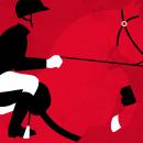 Concurso Hípico de Gijón. Un progetto di Design, Graphic Design e Illustrazione di kike + quino - 08.04.2015
