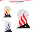 Santander Challenge Design The Trophy 2014. Um projeto de Design e Design de produtos de macarena.go - 01.05.2014