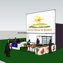 Stand Feria Fruit Attraction 2014. Um projeto de 3D, Arquitetura, Br, ing e Identidade, Arquitetura de interiores e Design de interiores de macarena.go - 25.10.2014