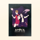 Space Marriage, una boda a warp 3. A Graphic Design, Illustration, and Packaging project by Juanma Martínez - 04.30.2015
