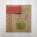 Recetario vegetariano handmade con encuadernación japonesa. Un proyecto de Diseño editorial y Diseño gráfico de Alicia Menal - 25.04.2015