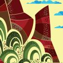 Paisajes. Un proyecto de Ilustración de Nery Estuardo Arango Alegría - 24.05.2015