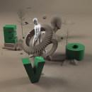 Mi Proyecto del curso Dirección de Arte con Cinema 4D. A 3D project by Elvis Benício - 05.27.2015