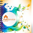 Diseño Cuaderno Full Service. Un proyecto de Diseño de Jonathan Lorenzo Chavarría - 30.10.2014