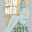 Warmest Summer 2015. Un proyecto de Ilustración y Pintura de Fende - 20.06.2015
