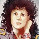 Teniente Ripley. Un proyecto de Ilustración y Pintura de Fende - 21.06.2015
