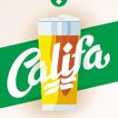 Cervezas Califa. Lettering y Rótulos. Um projeto de Br, ing e Identidade, Design gráfico e Tipografia de Juanjo López - 02.07.2015