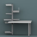 Módulo de oficina. Un proyecto de 3D, Diseño de muebles y Diseño de producto de Pafz - 23.05.2010