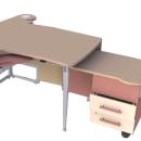 Diseño de mesa administrativa. Un proyecto de 3D, Diseño de muebles y Diseño industrial de Alberto Sánchez Bermejo - 21.07.2012