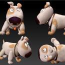 Modelado de personajes Tadeo Jones. Un proyecto de 3D y Diseño de personajes de Alberto Sánchez Bermejo - 21.01.2013