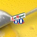 San Miguel 0,0. Lanzamiento sabor limón. . Um projeto de Design interativo de Alejandro Tornero - 02.08.2013
