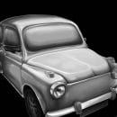 Old car. Um projeto de Ilustração e Pintura de Andrea Sacchi - 06.08.2015