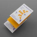 Ana Banana DJ. Un proyecto de Diseño, Dirección de arte, Br e ing e Identidad de Mariano Fiore - 16.08.2015