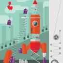 Proyecto Cohete. Um projeto de Ilustração de Leonor Sanahuja - 01.09.2015
