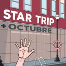 """Poster de presentación """"Star Trip"""". Un proyecto de Ilustración y Diseño gráfico de Chema Castaño - 16.09.2015"""