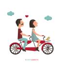 Parejas en conflicto. A Graphic Design & Illustration project by maruta - 09.23.2015