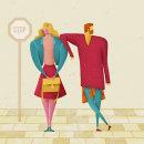 ¡La vuelta a clase!. Un proyecto de Ilustración, Dirección de arte, Diseño de personajes, Diseño editorial, Moda y Diseño gráfico de David van der Veen - 30.09.2015