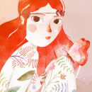 Ilustración para Kireei Magazine. Um projeto de Ilustração de Coaner Codina - 06.10.2015
