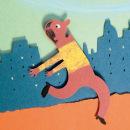 """""""El senyor, el barret i el cacauet"""", cuento infantil de Pere Puig.. Um projeto de Ilustração de Pere Puig - 16.01.2015"""