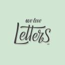 We Love Letters. Um projeto de Design, Ilustração, Design de produtos e Tipografia de Ignacio Rodriguez Acosta - 21.10.2015