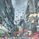 Ilustración portada. A Comic & Illustration project by Adolfo Arranz - 10.28.2014