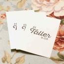 El Taller & Co.. Um projeto de Fotografia, Br, ing e Identidade e Design gráfico de Atomika Studio - 14.10.2015