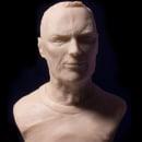 Busto miniatura 1/6 de Clint Eastwood. Um projeto de Design de personagens, Escultura e Design de brinquedos de Manuel Barroso Parejo - 22.11.2015