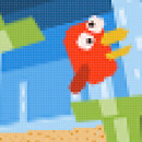 Clonando flappy bird con Construct 2. Um projeto de Design interativo de kike frutas - 23.11.2015