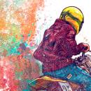 Born to ride. Un projet de Illustration , et Design graphique de Moises Andrade - 30.11.2015