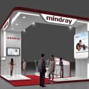 Diseño Stand Mindray (Esicm). Um projeto de 3D, Arquitetura, Br, ing e Identidade e Arquitetura de interiores de Quique Cestrilli - 03.01.2015
