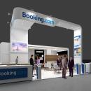 Diseño Stand Booking (Fitur 2015). Um projeto de 3D, Arquitetura, Br, ing e Identidade, Eventos e Arquitetura de interiores de Quique Cestrilli - 04.01.2015