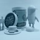 Mutoboy, un juguete modular.. A 3-D, Br, ing und Identität, Design von Figuren, Verpackung, Produktdesign und Spielzeugdesign project by Lakas Martinez - 12.12.2015