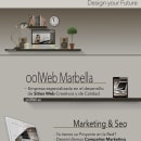 Folleto oolWeb. Um projeto de UI / UX, Marketing, Web design e Desenvolvimento Web de Antonio M. López López - 27.08.2014