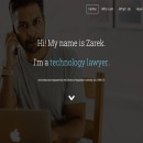Zarek Rahman. Um projeto de UI / UX, Marketing, Web design e Desenvolvimento Web de Antonio M. López López - 27.05.2012